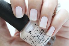 OPI Soft Shades Act Your Beige Nude Cream Nail Polish Swatch