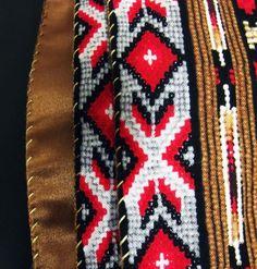 Native American Beadwork guitar strap