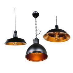Retro Deckenleuchte Deckenlampe Hängelampe Pendel Vintage Antik Kupfer Gold E27 in Möbel & Wohnen, Beleuchtung, Deckenlampen & Kronleuchter | eBay