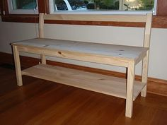 HOW TO: make a bench from one Ikea chair. (There's another one at http://pinterest.com/pin/66267252/ )