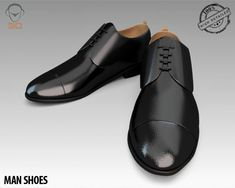 """Man Shoe 3D Model- """"Originally created with 3ds Max 2009:    High resolution, realistic, fully detailed and textured Man Shoes. Detailed enough for close-up renders. Model comes with detailed textures. All parts are separate and pivoted for animation.    Originally modeled in 3ds Max 2009.  The 3ds Max zip file contains also V-Ray and standard materials scenes.  --------------------------------------------------------------------------------------------------  Features:    - High quality…"""