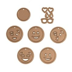 Die D-Lites Emojis Etched Dies