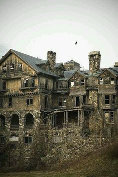 Eerie, abandoned.