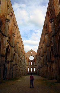 San Galgano, Italy #monogramsvacation
