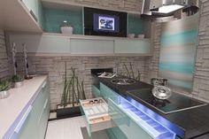 Cozinha decorada por Jacqueline Fumagalli.