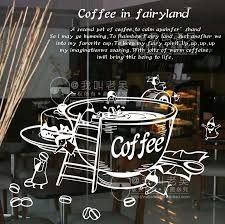 Картинки по запросу Coffee Shop Cafe Window Sign Stickers Restaurant Graphic Decal