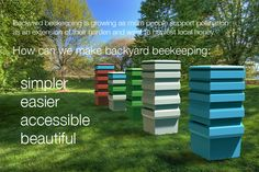 Philip de los Reyes | bee keeping system and small-scale architecture.