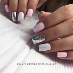 Make an original manicure for Valentine's Day - My Nails Gorgeous Nails, Love Nails, My Nails, Nails Ideias, Manicure E Pedicure, Cute Acrylic Nails, Trendy Nails, Halloween Nails, Nails Inspiration