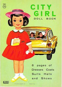 Paper Dolls~City Girl Sally - Bonnie Jones - Picasa Web Albums