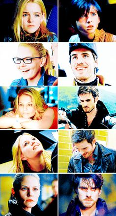 Evolution of Killian and Emma