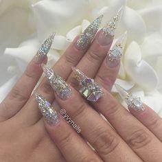 My claws are back!! Xlong sculpted stilettos for me by me! #freeforms #nailartist #nailartdesign #nailarts #nailartcult #nailartswag #nailartdesigns #nailedit #showmethemani #nailartlove #nailprodigy #nailswag #nailsofinstagram #nails2inspire #nailsalon #nailsdesign #nailspolish #nailshop #nailstyle #nailsofig #nailsaddict #yvynails #laquenails #getlaqued