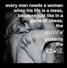 Queen always protects the King