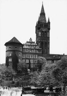 Königsberg Pr.  Das Königsberger Schloß.