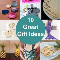 Great gift ideas for everyone on your list! This year's gift giving just got a lot easier with these fabulous gift suggestions!