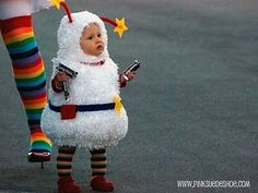 Once Baby K is big enough, I may have to steal this costume idea!