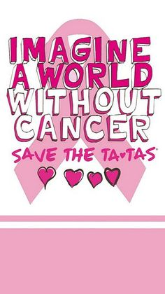 Save the TaTa's Imagine a World Without Breast Cancer Napkins