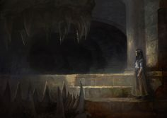 """"""" Arya Stark and the Skull of Balerion the Black Dread by Justin Sweet """""""