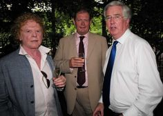 Mick Hucknall and Michael Fallon