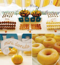 breakfast-party-mini-donuts plus Filipino breakfast!