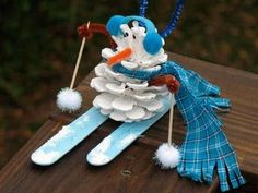 preshool+crafts++winter+sports | ... So cute for preschool winter theme... / Preschool items - Juxtapost