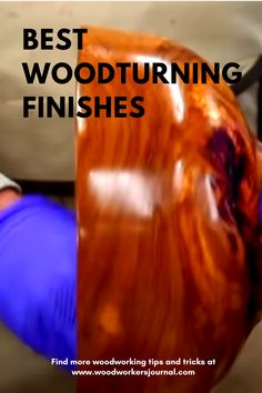 Woodturner Ernie Conover shares his favorite wood finishes for woodturning and how to apply them to different types of projects. Lathe Projects, Cool Woodworking Projects, Woodworking Finishes, Woodworking Lathe, Wood Router, Wood Lathe, Cnc Router, Small Wood Projects, Wood Turning Projects