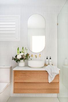 Laundry In Bathroom, Bathroom Renos, Bathroom Renovations, Home Remodeling, Bathroom Faucets, Bathroom Furniture, Bathroom Wall Tiles, Bathroom Ideas, Concrete Bathroom
