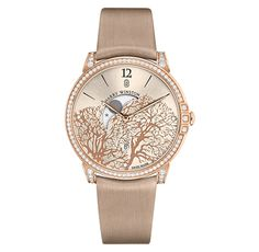 Harry Winston Midnight Moon Phase in rose gold l Harry Winston Timepieces