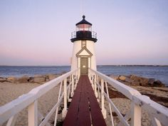 Brant Point Lighthouse, Nantuket, MA, USA my favorite place in the world! i go every summer to a beach house i spend my entire time at the beach