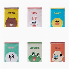 LINE FRIENDS Character First-Aid Adhesive Bandages 1 Box (40pcs.) 6 Types #LINEFRIENDS
