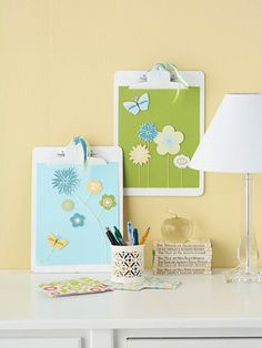 Spring-Theme Clipboard for Mom