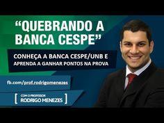 Palestra: Quebrando a Banca Cespe - Aprenda a ganhar pontos! - Prof. Rod...