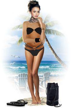 """Beach Doll by Sheniq"" by sheniq ❤ liked on Polyvore"