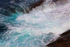 """Sea Foam"" at Esperance, W.A. The Artist's Eye: Photographs to Inspire 17/05/2015 debiriley.com"