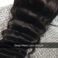 These are our Deep Wave Lace Closures that we use. It can be sold separately or we use it with your #customwigs  It blends well with our 215 Wave Tropic Wave & Abu Dhabi Wave. It you would like to press out your wavy textures you can do the same with this closure. Purchase our extensions or #wigs from @isellwigs  For faster service text 484 219-3686  #5thavecrown  #extensions #closures #phillyhair #phillysupportphilly  #lahair #lastylist  #dmvhair  #calihair by isellwigs