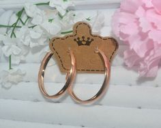Free Shipping Forever!  ?    http://busydayshopping.myshopify.com/products/rose-gold-hoop?utm_campaign=social_autopilot&utm_source=pin&utm_medium=pin