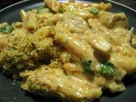 The Virtuous Wife: Pesto Chicken Alfredo (FREEZER MEAL)