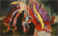 AUBREY WILLIAMS Shostakovich 6th Quartet, Opus 101, 1981 oil on canvas 132.1 x 208.3 cm