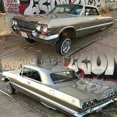 63 Chevy Impala low low........