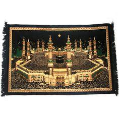 Muslim Prayer Rug - Shop Quality Prayer Rugs Made in Turkey Islamic Wall Decor, Islamic Art, Islamic Images, Islamic Quotes, Hanging Tapestry, Wall Tapestry, Goa Indien, Black Room Decor, Muslim Prayer Rug