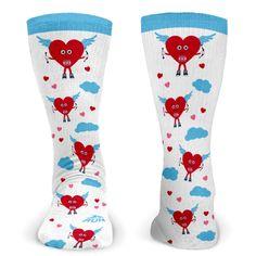Running Printed Mid Calf Socks | GoneForaRUN.com