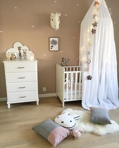 A pretty little girl's room