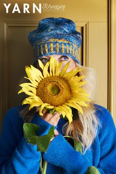 YARN Bookazine Dutch Masters   Pattern: Starry Night Hat