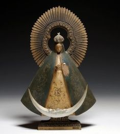 Antique Mexican Santos - Our Lady of Guadalupe