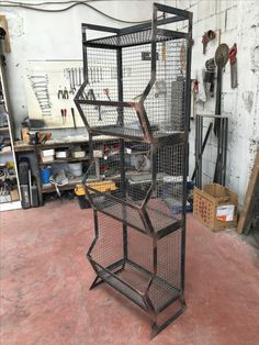 Welded Furniture, Iron Furniture, Steel Furniture, Furniture Design, Industrial Style Furniture, Vintage Industrial, Metal Projects, Welding Projects, Welding Shop