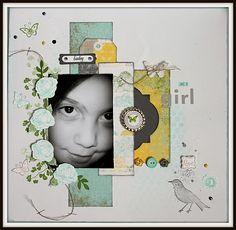Papaya Collage Stamp set
