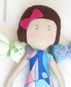 Papusa_OLIVIA_PravaliacuPapusi Hello Kitty, Fictional Characters, Art, Kunst, Fantasy Characters, Art Education, Artworks