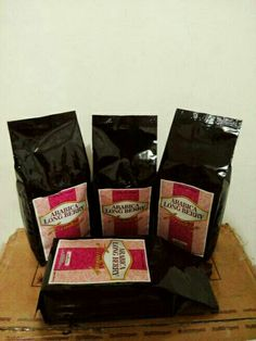 Arabica Long Berry Lintong Coffee @ 250 gram only USD 7.50 roasted bean. Indonesia Speciality Coffee.
