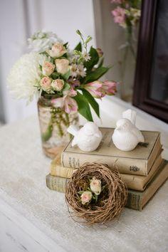 Sweet and Romantic shabby chic decor #cedarwoodweddings Cedarwood Wedding :: Abby +Brennon   Cedarwood Weddings