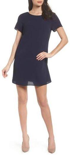 c9825b55c02 ASTR the Label ASTR V-Neck Crepe Shift Dress - ShopStyle Day