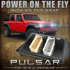 Pulsar for Jeep® - Shift on the Fly with Your Cruise Control Buttons to Gain 30HP